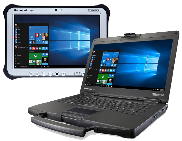 Rugged Tablet PCs & Laptops
