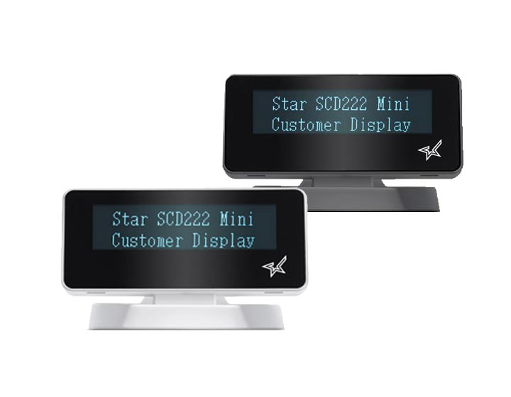 Star Micronics Customer Displays