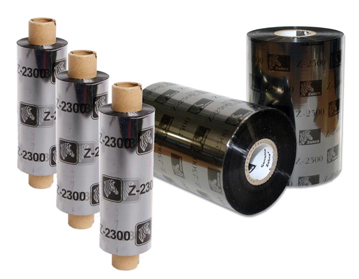 Zebra Thermal Printer Ribbons