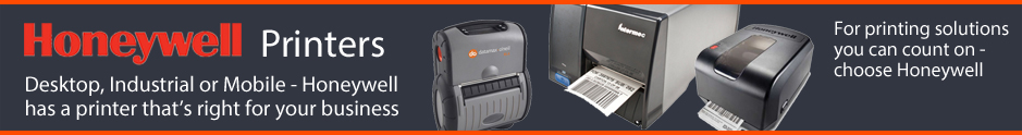 Honeywell printers - available from The Barcode Warehouse UK