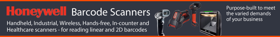 Honeywell barcode scanners from The Barcode Warehouse UK