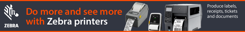 Zebra Technologies Printers and Media available from The Barcode Warehouse UK