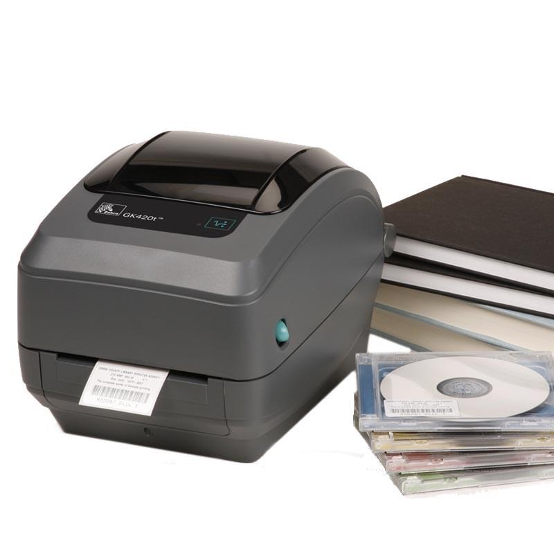 Zebra GK420t - Compact Thermal Transfer Desktop Label ...