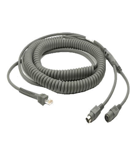 CBA-K08-C20PAR - Motorola 20ft Coiled Keyboard Wedge Cable