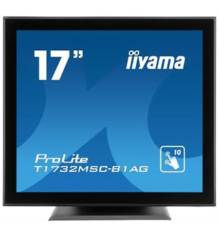 Iiyama T1732MSC-B1AG 17 Inch Projective Capacitive 10pt Touch Screen With AG-Coating