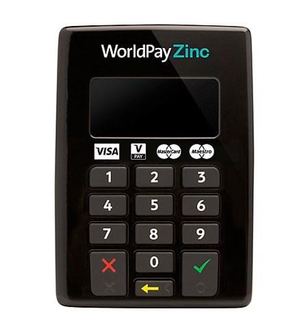 World Pay Zinc >> Worldpay Zinc Card Reader
