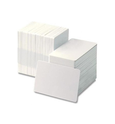 104523-118 - Zebra Premier (PVC) Blank White Cards (Signature Panel)