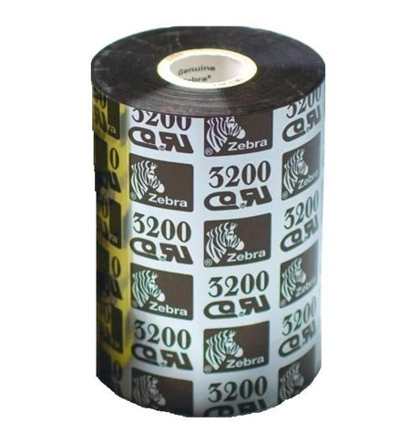 03200GS11007 Zebra 3200 High Performance Wax/Resin 110mm x 74m Ribbon