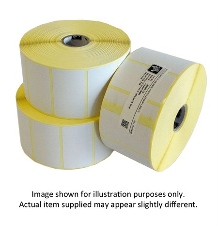 800262-125 - Zebra 57 x 32mm Direct Thermal Paper Label, Permanent  Adhesive, 25mm Core (Perforation)