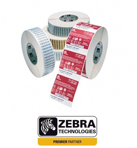 87000 Zebra Z-Select 2000D 100 x 50mm Direct Thermal Paper Label, Permanent Adhesive, 25mm Core