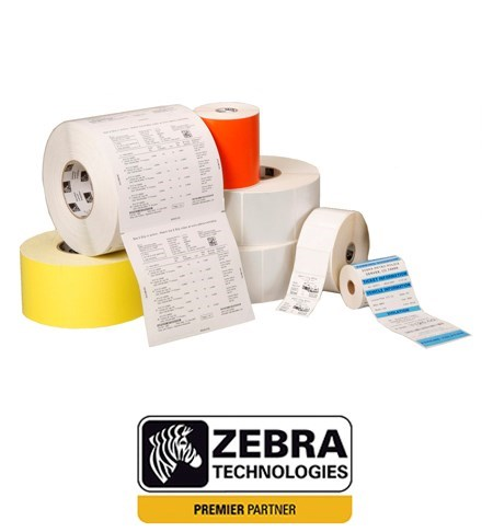 800264-255 Zebra Z-Select 2000D 102mm x 64mm Paper Label (Perforation)
