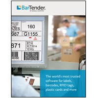 BarTender Professional 2016 Edition - The World's Leading Label, RFID, Card Printing & Barcode Software
