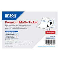 C33S045390 - Premium Matte Ticket Roll, Continuous Paper (102mm x 50m)