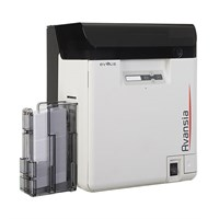 Evolis Avansia Double Sided Re-Transfer ID Card Printer