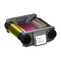 CBGR0100C - YMCKO Colour Ribbon (100 prints) for Badgy 200
