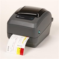 Zebra GX430t - 300 dpi Thermal Transfer Desktop Label Printer