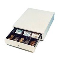 ICD SS-102 - Very Small Cash Drawer. 5 Coins (removable coin tray), 3 Notes