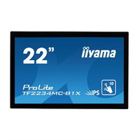 "Iiyama TF2234MC-B 22"" Projective Capactitive LCD Touchscreen Monitor"