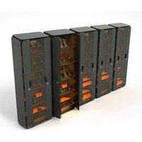 The Troll - Rugged Charging, Storage and Communication Cabinet for PDAs, Mobile Devices and 2-way radios