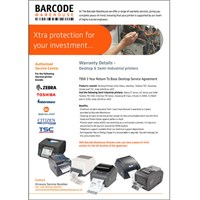 Xtracare Extended RTB Desktop Printer Service Agreement