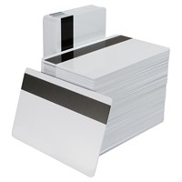 Zebra Premier Plus (PVC Composite) Blank White Cards (104524-103)