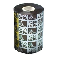 03200GS06407 Zebra 3200 High Performance Wax/Resin 64mm x 74m Ribbon