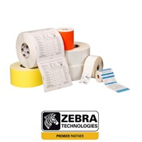 66087 Zebra 8000T ALL-Temp 70mm x 32mm Paper Label
