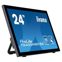 "Iiyama T2435MSC 24"" 10 point multi-touch monitor with edge-to-edge glass and webcam"