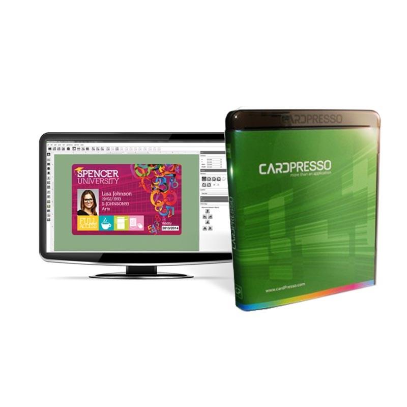 cardpresso id card design software  the barocde warehouse uk