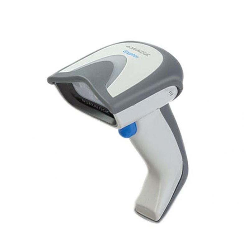 Datalogic Gryphon GBT4100-1D BK Barcode Scanner with charge cradle and Adapter