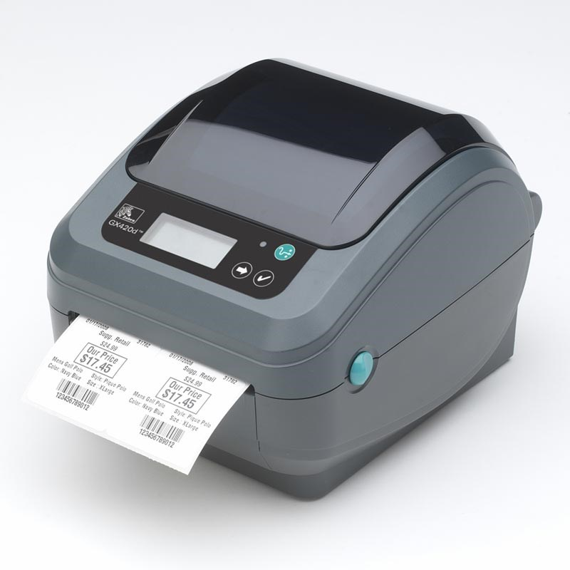 Zebra GX420d - Direct Thermal Desktop Label Printer | The ...