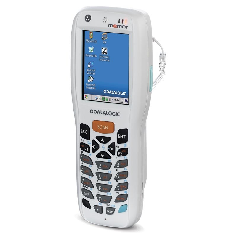 Memor X3 Healthcare - 2D imager, Windows CE 6 0 Pro, Bluetooth, WLAN,  Extended battery, White