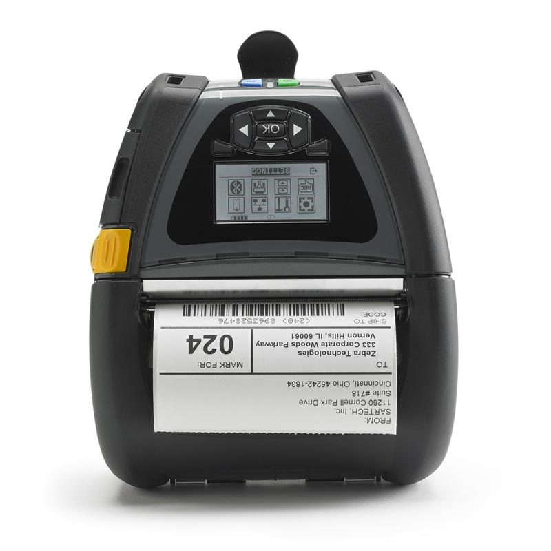buy zebra qln420 mobile printer the barcode warehouse uk. Black Bedroom Furniture Sets. Home Design Ideas