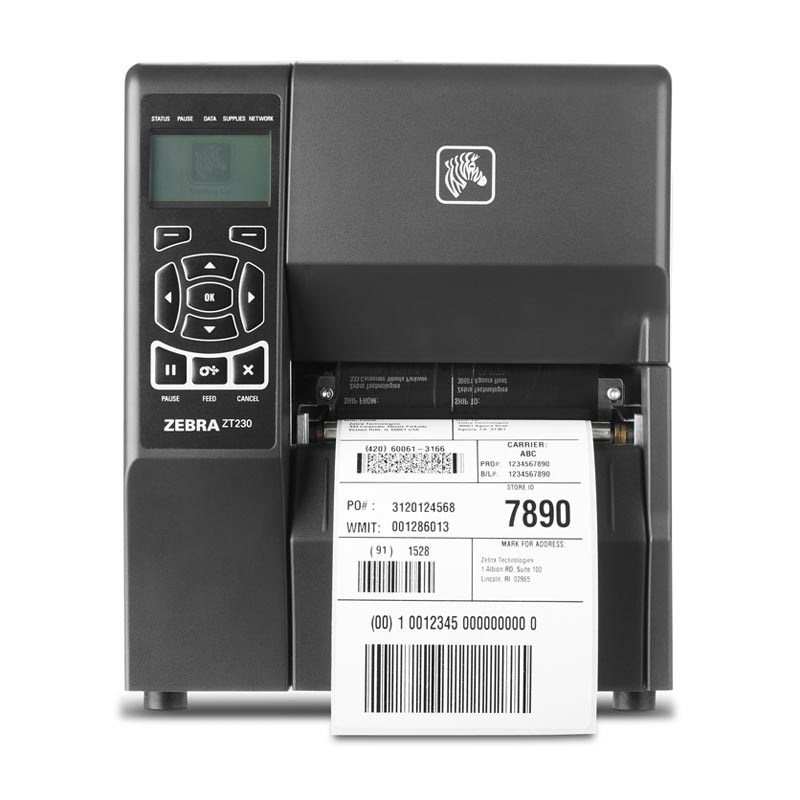 Buy Zebra ZT230 Metal Framed Industrial Label Printer ...