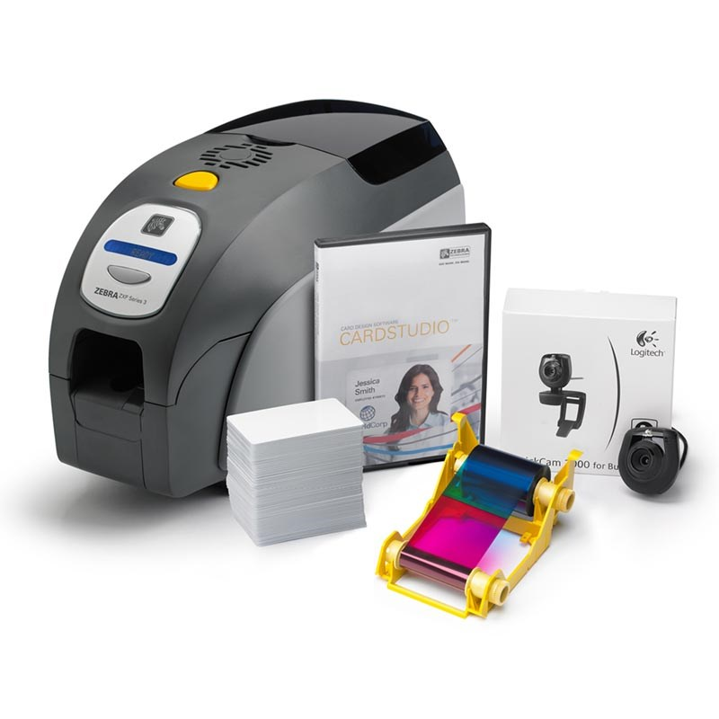 Uk Solution Zebra Id Zxp Quikcard The Series 3 Warehouse Barcode